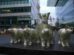 Berlin chariot bears