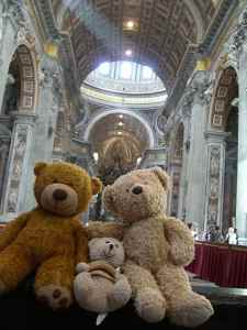 St Peters and bears