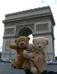 Arc de Triomph_teddies