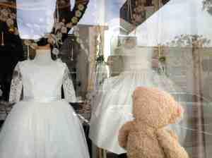 Wedding Dress window- Dwight