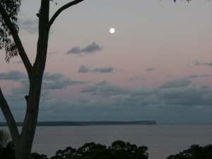 Jervis Bay full moon